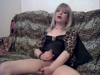 Mature Sissy Slut Playing