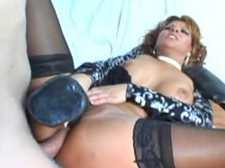 Hot Mature Chick Banged In Her Horny Asshole