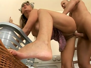 Blonde MILF Rides Her Pierced Cunt On A Thick Dick