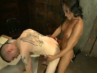 Serving Your Ass To Her Cock To Spring Yourself From Jail