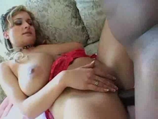 A busty MILF takes it in th butt