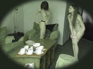 Roommates Getting Dressed