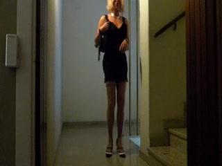Corinne With Nylon Stockings