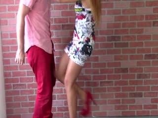 Model Jessica Kicks!