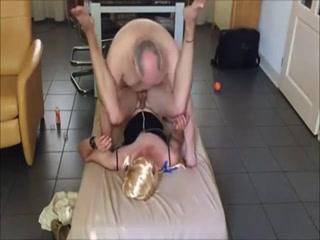 Mature Man Fucks Sexy Crossdresser And Cums Inside Her Butt