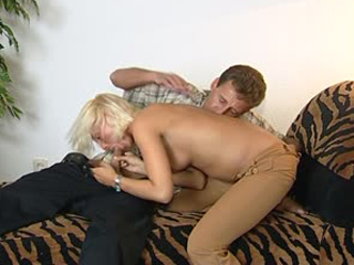 Dicking a cute blonde