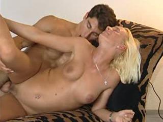 Pleasing The Blonde MILF