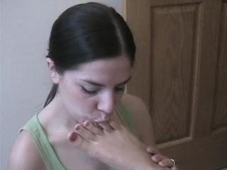 Sasha Loves To Lick Allie's Feet