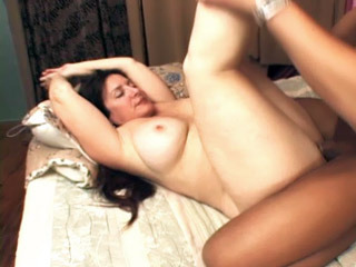 Curvy Mature Spreads Her Legs For A Cock