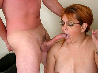 Cock Starved Mature Plumper Fritz