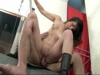 A Cute Latina Riding A Big Cock