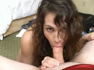 Faith gets her pretty face covered with cum