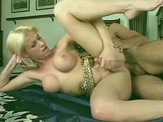 Busty Blonde Gets Banged