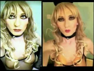 Blonde Bimbo Sissy Slut Sandra