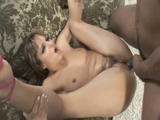 Sexy amateur riding a black dick