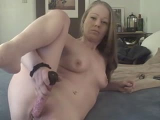 Amateur Brunette Masturbates With A Vibrator