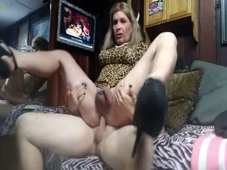 Unsatisfied CD Bouncing On The Dick And Craves For More