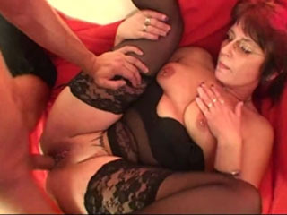 Horny Mature Housewife Gets Nasty With Her Young Man