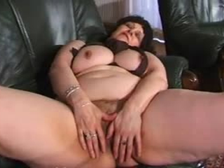 Chubby Grandma In Pantyhose Wants A Hard Cock