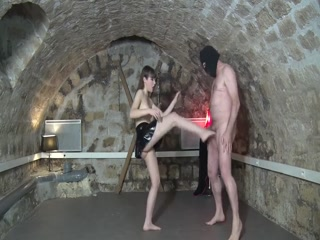 Ballbusted By Young Goddess