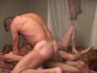 Boys sharing a raw cock