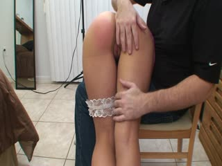 Cute Teen Gets A Nice Spanking