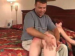 Vicci cucks dick and gets spanked