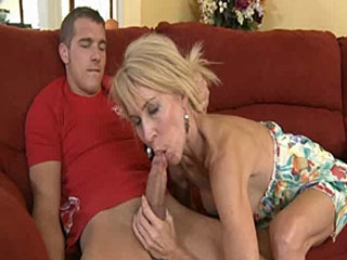 Horny Blonde Mom Erica Lauren Cant Get Enough Cock